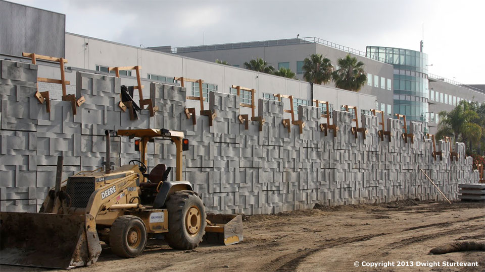 Mse Wall Construction : West l a construction